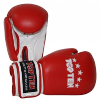 Перчатки боксерские 2061-4  TOP TEN класса А