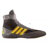 Борцовки Adidas Combat Speed 5 (серый/желтый)