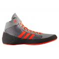 Борцовки Adidas HVC 2 серо/красный