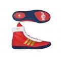 Борцовки Adidas Combat Speed 4 красно-золотые