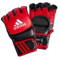 Перчатки для смешанных единоборств Adidas Ultimate Fight красно-черные