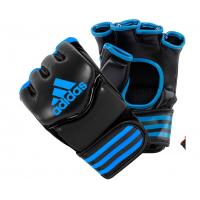 Перчатки Adidas для смешанных единоборств Traditional Grappling черно-красные