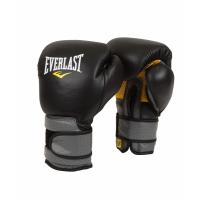 Перчатки тренировочные EVERLAST на липучке PRO LEATHER STRAP