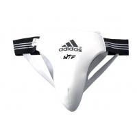 Защита паха мужская Adidas WTF Men Groin Guard белая
