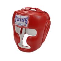 Боксерский тренировочный шлем на липучке HGL-3 Twins