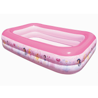 Надувной семейный бассейн Bestway 91056 Disney Princess 201х150х51, 450 л