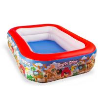 Надувной бассейн Bestway 96109 Angry Birds, 201х150х51см