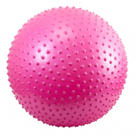 Гимнастический мяч массажный Body Sculpture 65 см с насосом