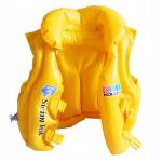Жилет надувной с подголовником Bestway 32034, желтый