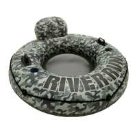 "Круг для плавания Intex 58835 ""CAMO RIVER RUN 1"" 135 см"