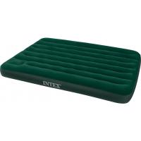 Надувной матрас флокированный Intex Downy