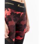 Лосины женские FORWARD (Черный/Красный)