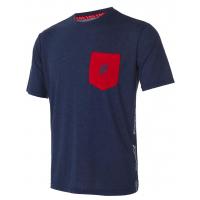 Футболка короткий рукав мужская (синий/красный) Forward