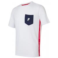 Футболка короткий рукав мужская (белый/синий) Forward