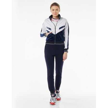 Костюм спортивный женский Forward (Белый/Синий)