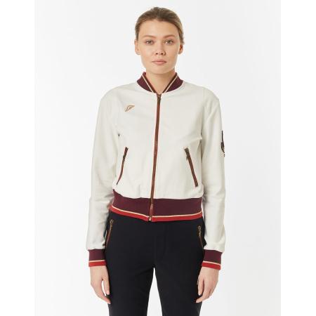 Куртка тренировочная женская Forward (Белый/Красный)