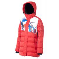 Куртка пуховая FORWARD женская (Красный/Белый)
