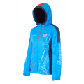 Куртка на флисовой подкладке FORWARD женская (Голубой/Красный)
