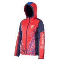 Куртка на флисовой подкладке FORWARD женская (Красный/Синий)