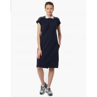 Платье поло женское Forward (Синий/Белый)