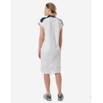 Платье поло женское Forward (Бордо/Бежевый)