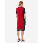 Платье поло женское Forward (Красный/Синий)