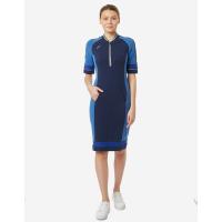 Платье поло женское Forward (Синий)
