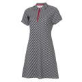 Платье поло женское Forward (Белый/Черный)