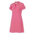 Платье поло женское Forward (красный/белый)