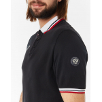 Рубашка поло FORWARD мужская (черный)