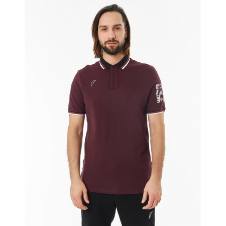 Рубашка поло FORWARD мужская (Бордовый)