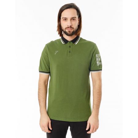Рубашка поло FORWARD мужская (Хаки/Черный)