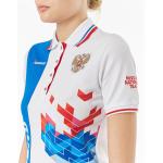 Рубашка поло FORWARD женская (Белый/Синий)