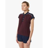 Рубашка поло FORWARD женская (Бордовый/Синий)