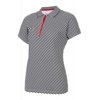Рубашка поло женская Forward (Белый/Черный)
