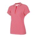 Рубашка поло женская Forward (Красный/Белый)