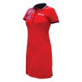 Платье-поло FORWARD женское (красный/синий)