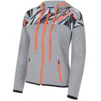 Куртка тренировочная женская Forward (белый/серый)
