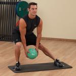 Медицинбол BodySolid (1-14 кг)