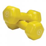 Гантель в виниловой оболочке Body-Solid 0,45- 6,8 кг BSTVD