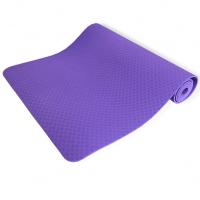 Коврик для йоги 6 мм однослойный TPE FITTOOLS