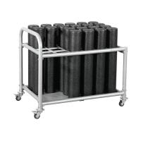 Стойка для роллов на колесиках Perform Better Foam Roller Rack