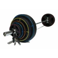 Штанга олимпийская 180 кг (диски-TPU) FT-OLYSET-180 Original  Fittools