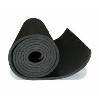 Коврик для йоги 6 мм однослойный черный TPE 1830х610х6 мм FT-YGM-06TPE-1830-BK Original Fittools