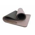 Мат для йоги 10 мм двухслойный премиум FT-YGM10-2LT-PREMIUM Original Fittools