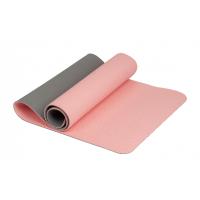 Коврик для йоги 6 мм TPE розовый Iron Master
