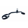 Рукоятка для мышц спины параллельный хват черная Premium Fittools