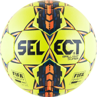 Мяч футб. проф. SELECT Brillant Super FIFA YELLOW р.5