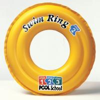Круг DELUXE SWIM RING POOL SCHOOL 51 см (от 3-6 лет) Intex