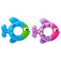 """Круг для плавания """"Рыбка"""" 77x76 см (от 3-6 лет) Intex"""